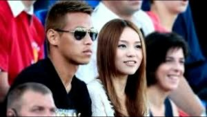 honda and wife